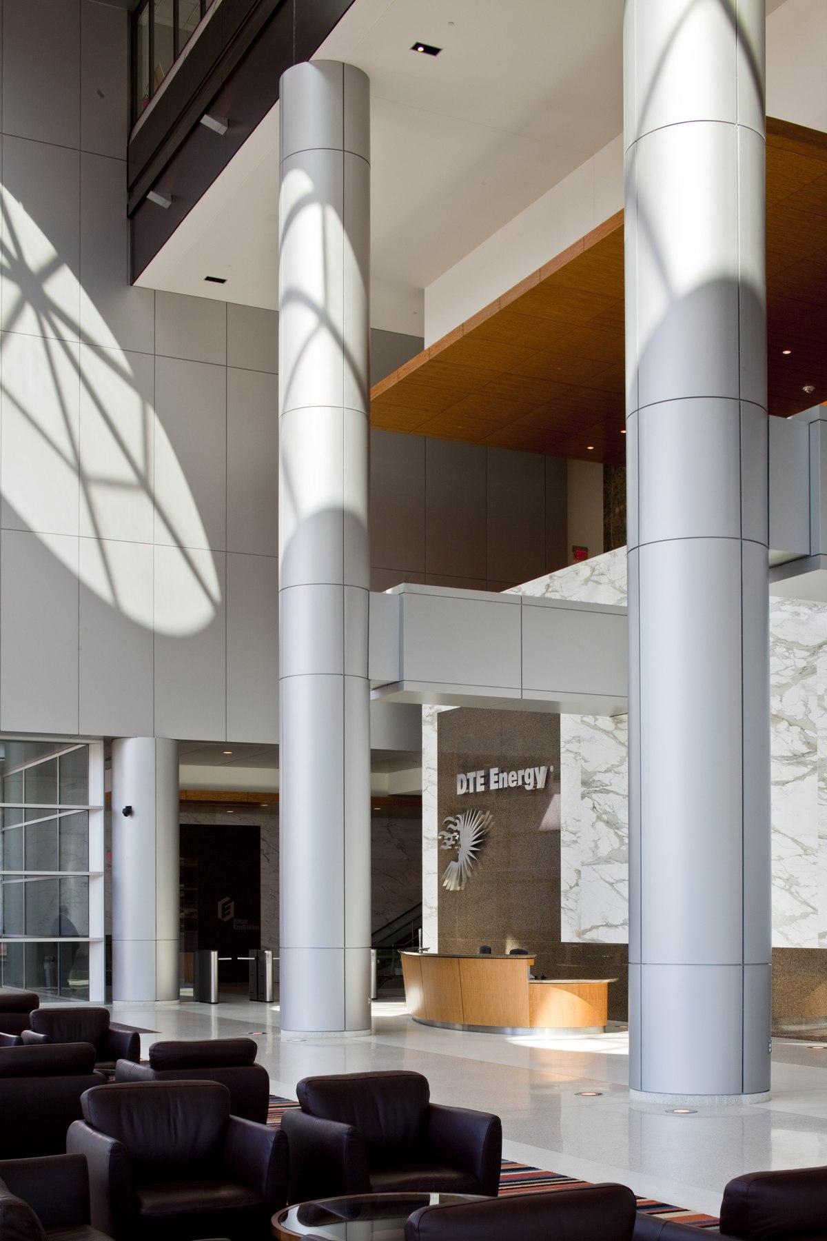 DTE Energy Campus Enhancements NeumannSmith Architecture