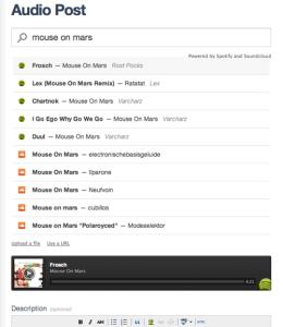 """Tumblr als wichtigster """"Play Button""""-Partner macht Musikblogs so einfach wie zuvor"""