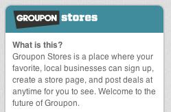 groupon stores