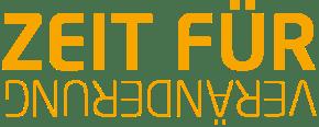 Zeit für Veränderung Orange Logo