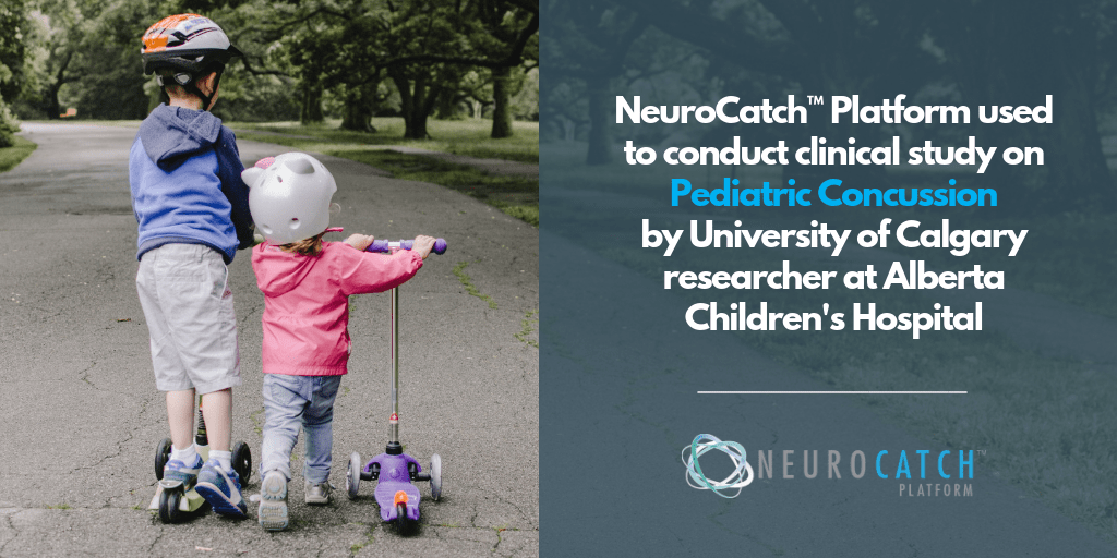University of Calgary researcher using NeuroCatch™ Platform to Conduct Clinical Study on Pediatric Concussion