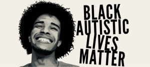 matthew rushin young black man with long curly hair black autistic lives matter