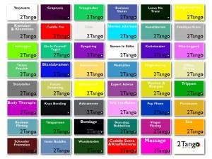 2Tango dating grid van 47 opties