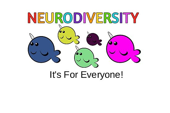 neurodiversity pride day narwhals neurodivergent original by ed wiley library