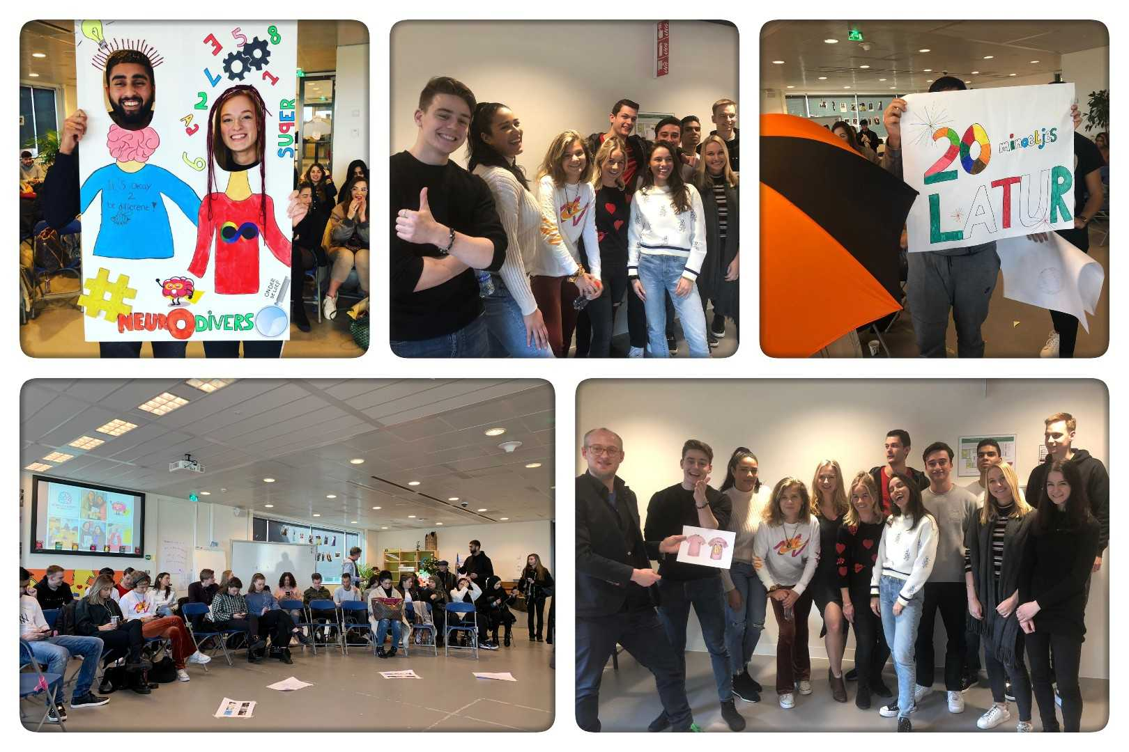 Pride Day concept competition with HVA students