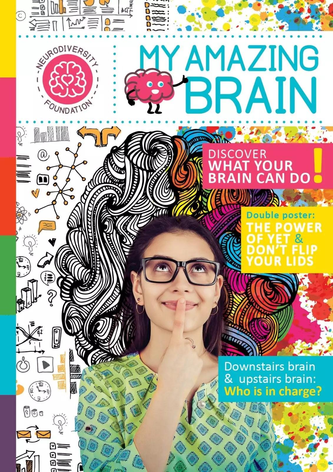 My Amazing Brain Magazine, made by Lana, Eleonora and Saskia
