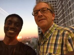 Kees and Omotola - a new horizon
