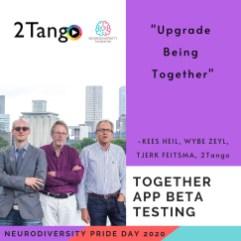 Neurodiversity foundation pride day 2020 together team