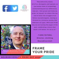 Neurodiversity Pride Day 2020 - Tjerk Feitsma