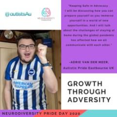 Neurodiversity Pride Day 2020 - Adrie Cornelis van der Meer