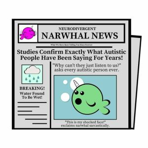 narwhals - inspired by Ed Wiley Autism Centre