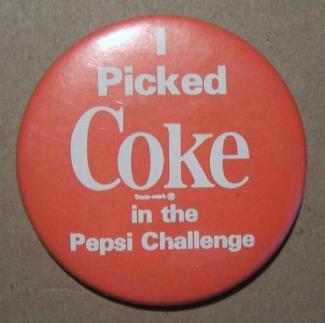 CokePepsiChallenge