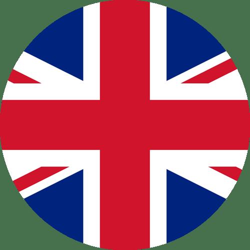Bandeira redonda da Inglaterra