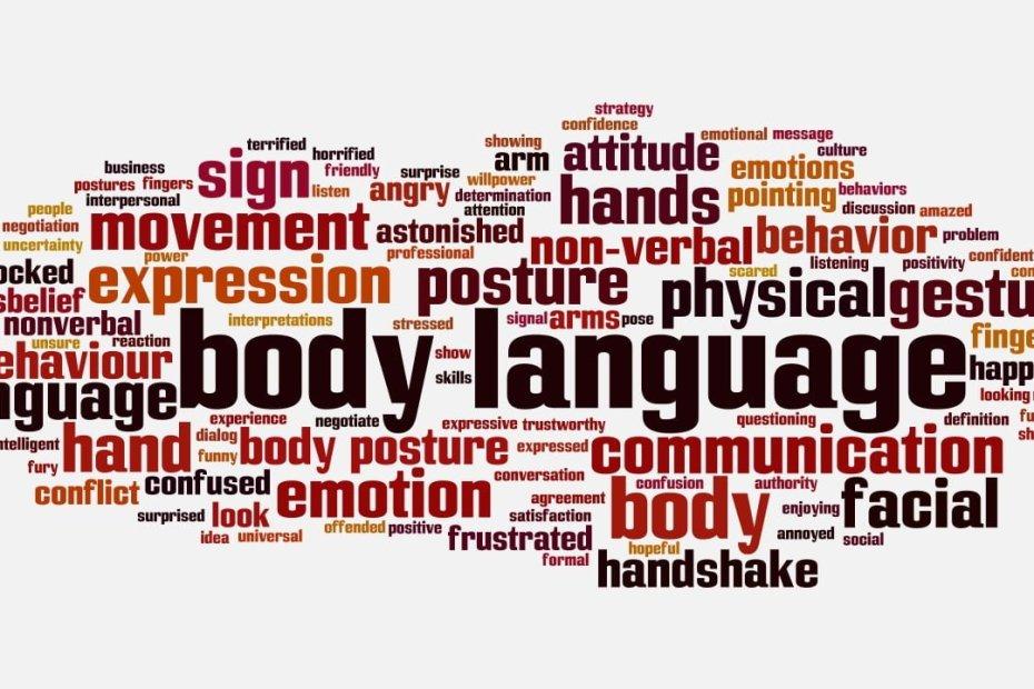Bahasa Tubuh; Tehnik komunikasi non verbal