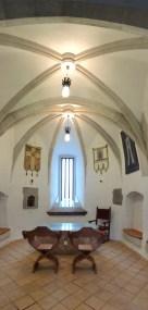 kápolna, alsó szint (függőleges panoráma)