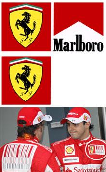 Malboro - Neuromarketing - Ferrari - Fórmula 1