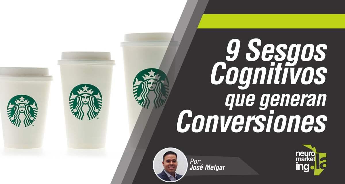 9 Sesgos Cognitivos que generan Conversiones
