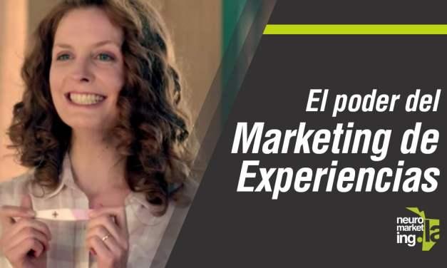 El poder del marketing experiencial ¿Qué siente tu cliente al comprarte?