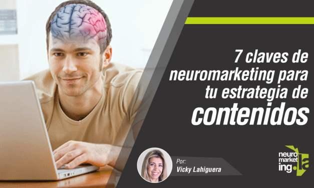 Las 7 claves del neuromarketing para mejorar tu estrategia de contenidos