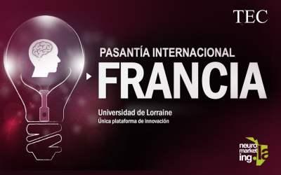 Pasantía Internacional de Innovación y Neuromarketing, en Francia, Mayo 2018