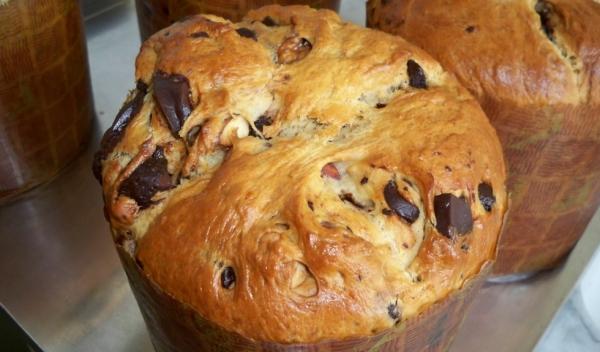 pan dulce en maquina de hacer pan