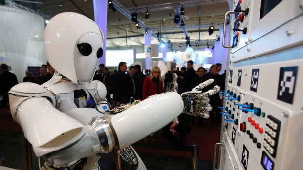 Is a robot eyeing up your job?