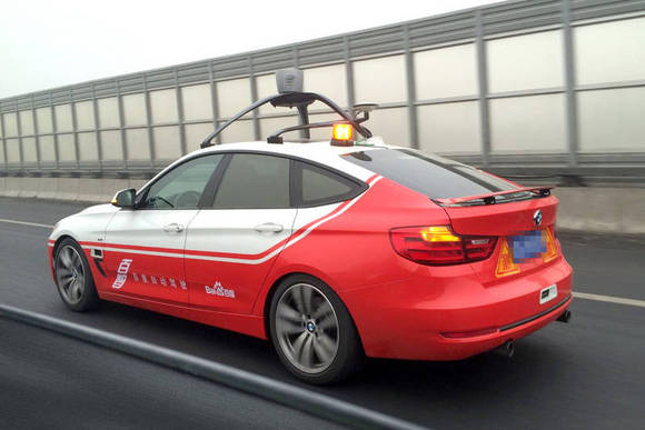 Baidu tests autonomous car, emerging as potential rival to Google and others