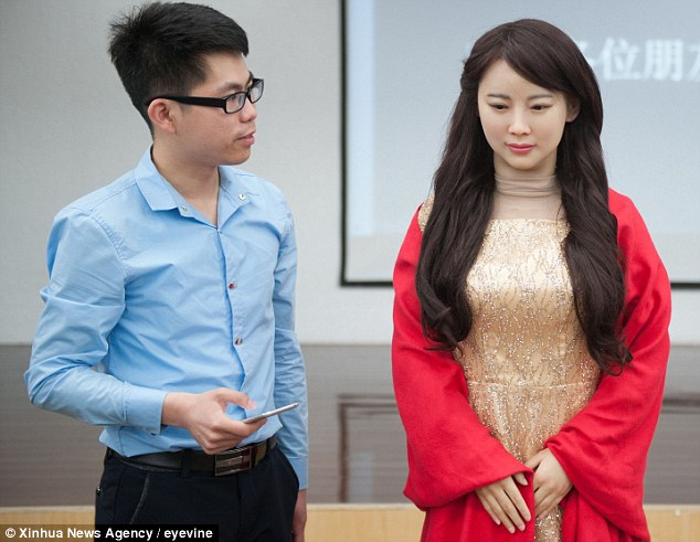 Meet Jia Jia the 'robot goddess': Chinese inventor claims humanoid is the most realistic ever made …