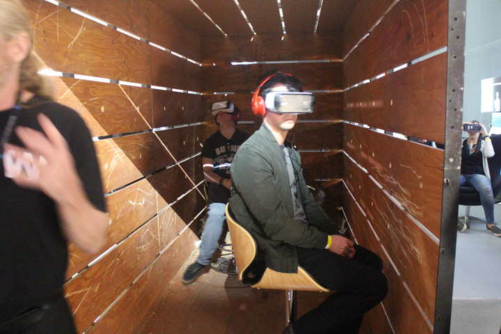 VR films inspire awe and hour-long lines at this year's Tribeca Film Festival