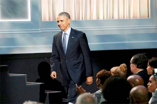 President Obama celebrates International Jazz Day at the White House