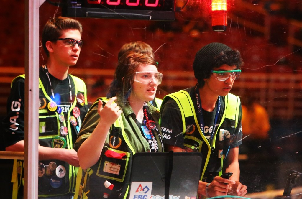 Readin', 'Ritin' And Robots Machine Learning: Robot Competition Sparks Young Inventors