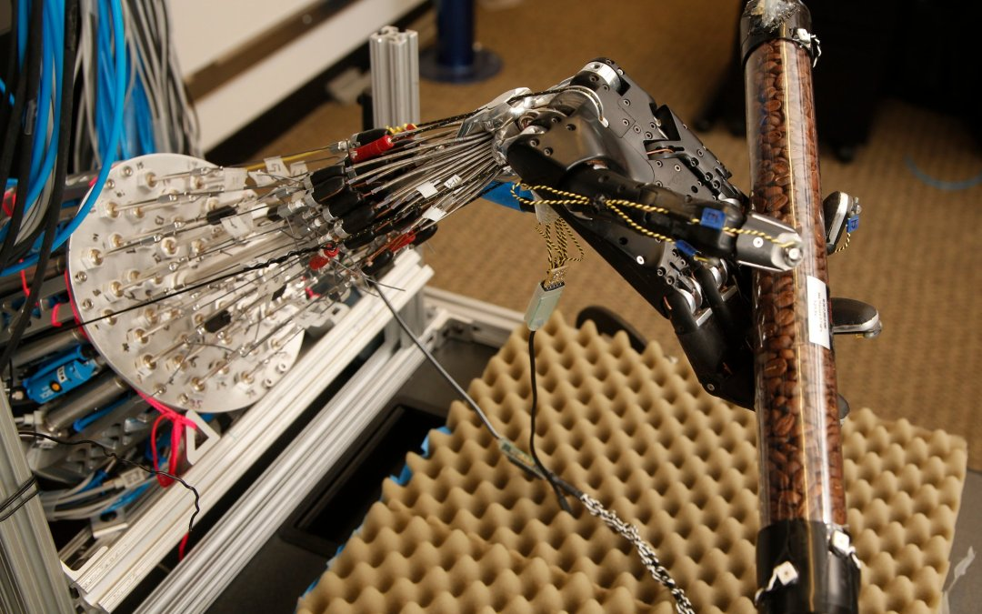 Researchers created a robotic hand that is eerily human-like and can learn on its own