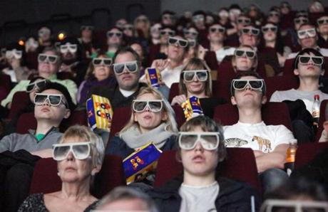 Coming to a theater near you: 3-D movies without those funny glasses