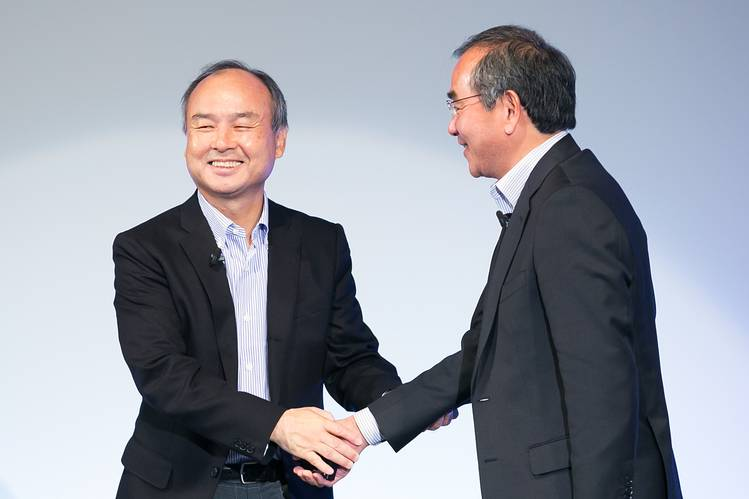 SoftBank's Son Lays Out Future of Smart Robots, Emotional Cars