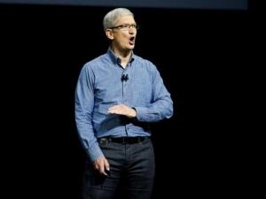 Apple CEO touts future technology