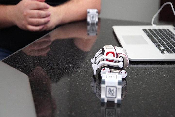 You'll soon be able to program Cozmo, the cute little robot that could, all you like