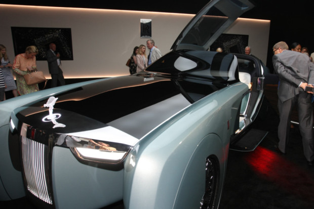COUNTY NEWS: Rolls-Royce vision car unveiled