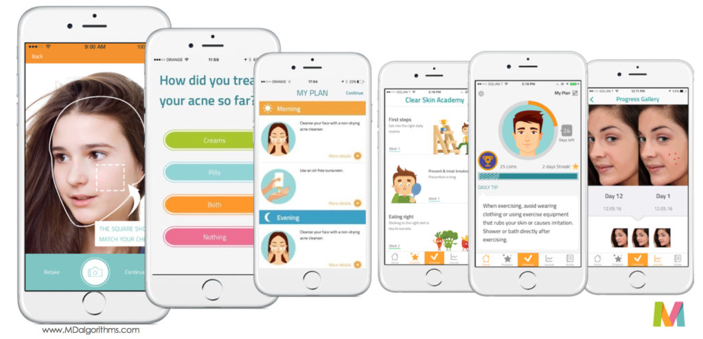 MDacne – uses mobile image analysis and artificial intelligence to disrupt physician centric Acne …