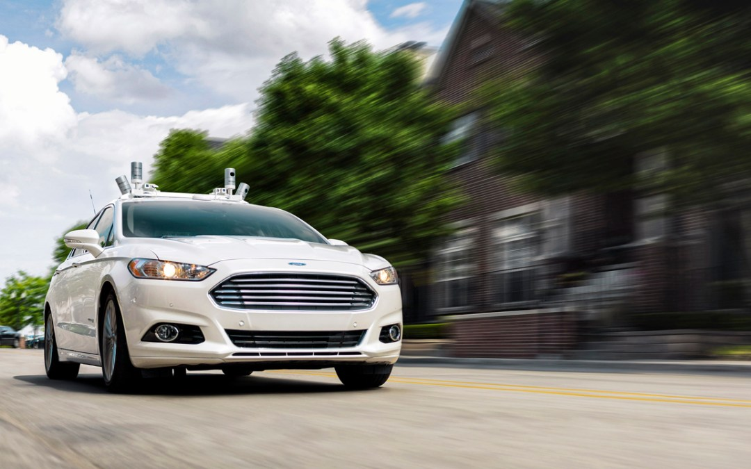 Ford's Big Plans For An Autonomous Ride-Sharing Service