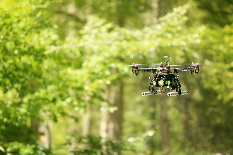 Expensive drones take flying lessons from cheaper stunt doubles