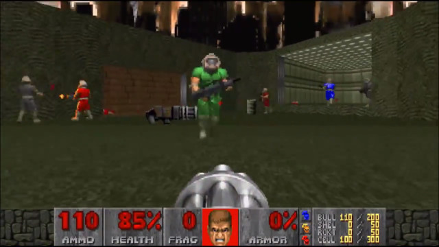 AI Uses Deep Learning to Beat Humans at DOOM
