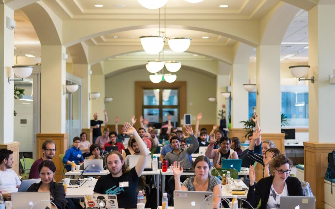 Astro Hack Week: Bringing Data Science into Astronomy