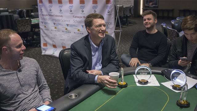 Carnegie Mellon Artificial Intelligence Librarus won a poker tournament against professional players