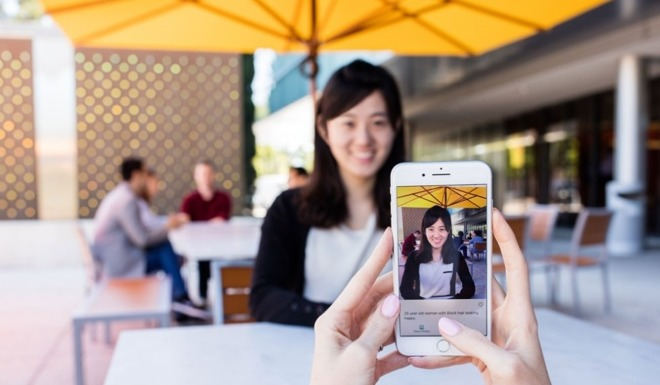 New Microsoft artificial intelligence app for iPhone describes world for visually impaired