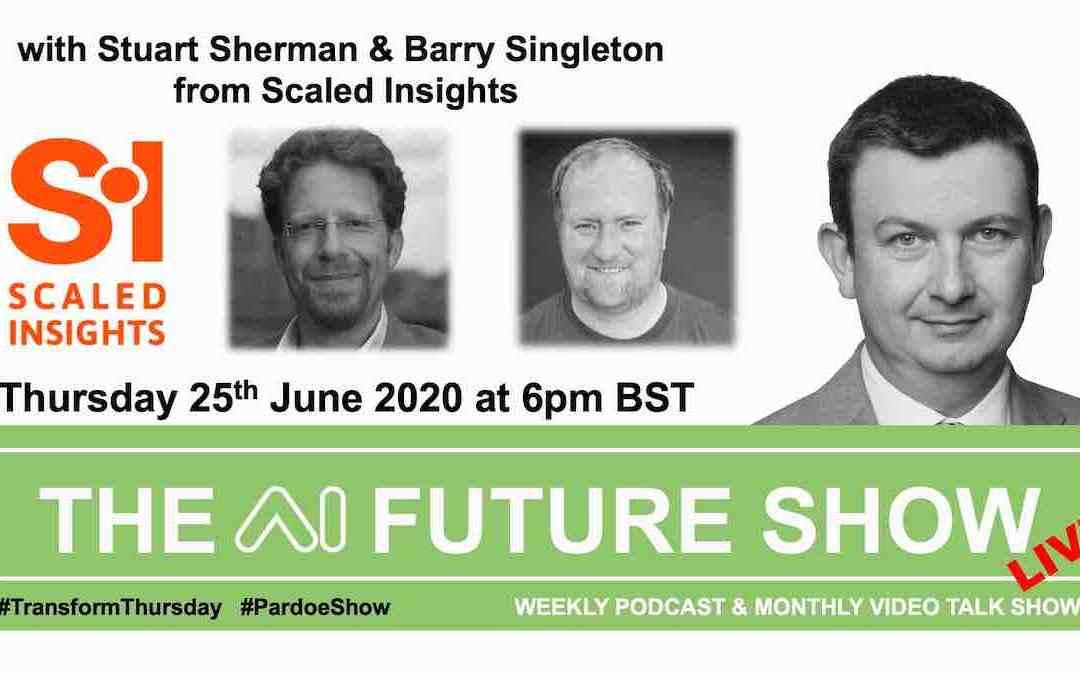 THE AI FUTURE SHOW – Thursday 25th June 2020