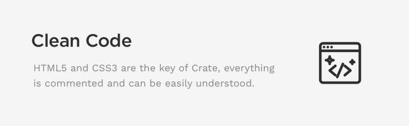 Crate - Minimalist WordPress Theme - 6