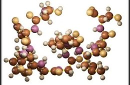 This is an image of the amylin molecule.