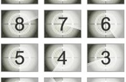 The image shows numbers 1-10 in a countdown form with 10 at the top and 1 at the bottom.