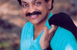 This is a photograph of neuroscientist V.S Ramachandran.