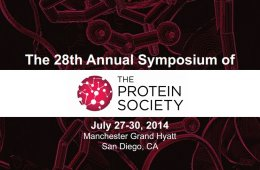 protein society event logo